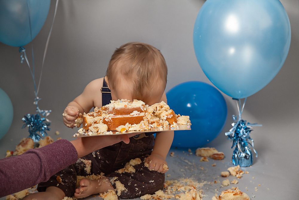 Cake Smash Photographer Camberley