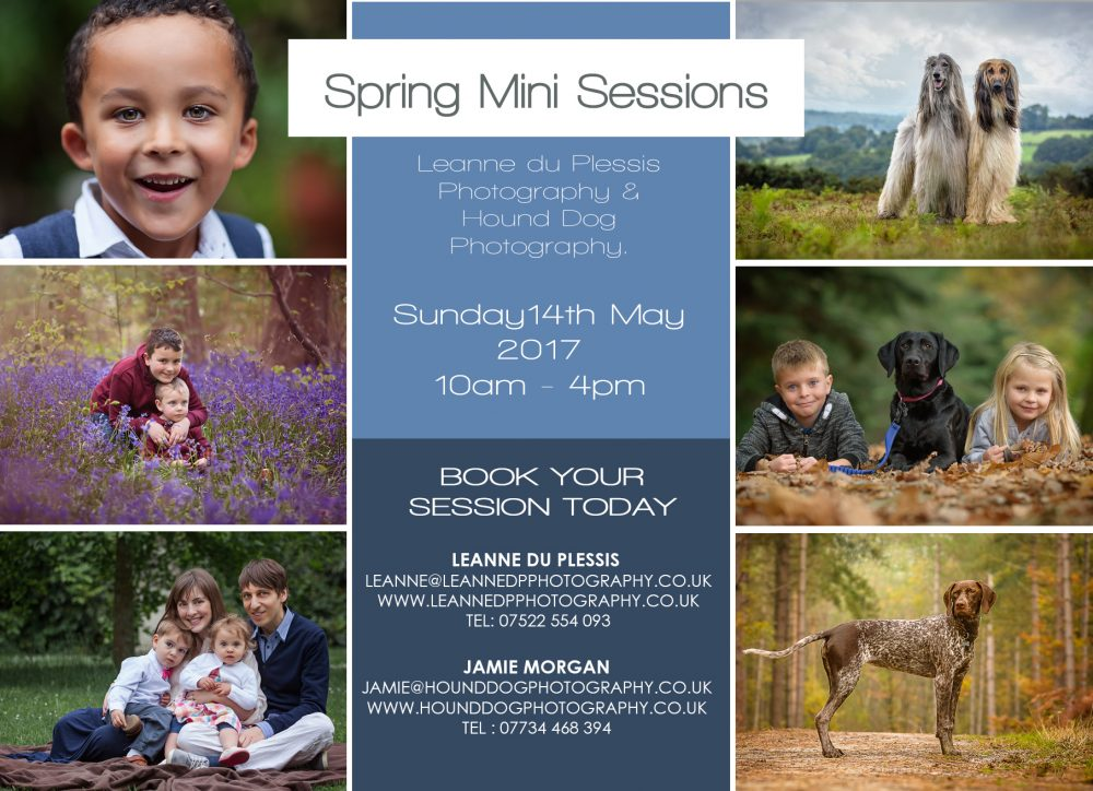 Family and Pet Photography Day - Surrey