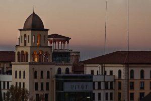 Sunset over Monte Casino, Johannesburg