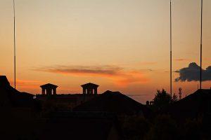 Sunset over Fourways, Johannesburg