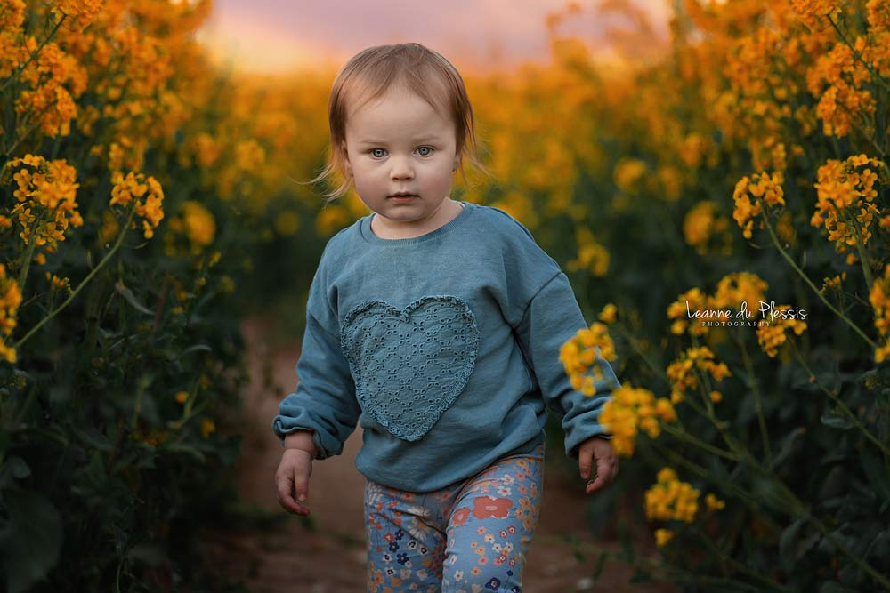 Outdoor Photo Shoot – Field of Gold